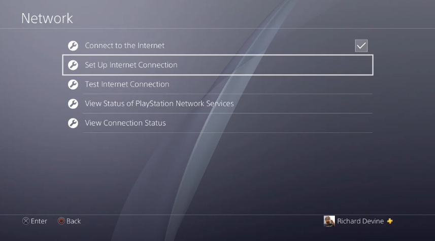 Setup Internet Connection