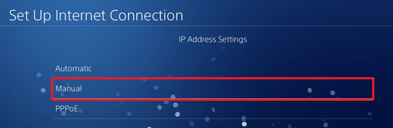 Set Up Internet Connection Automatic, Manual, PPPoE