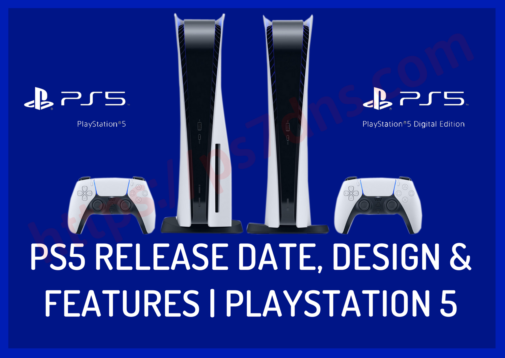 PS5 Release Date, Design & Features PlayStation 5
