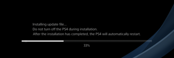 Manually Update PS4 Firmware