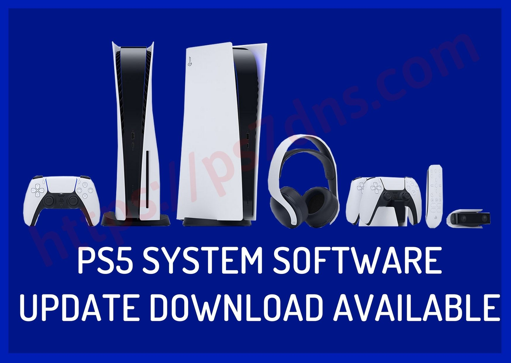 PS5 System Software Update Download Available