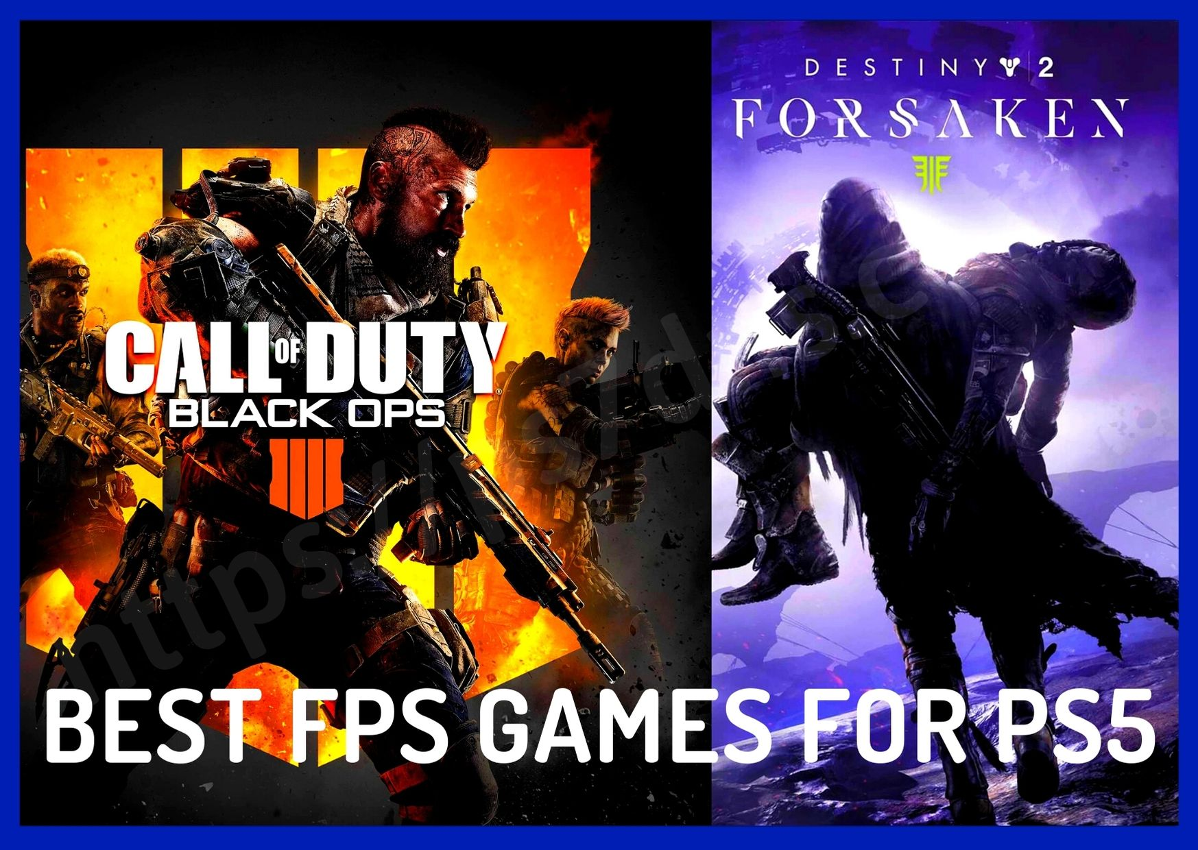 Best FPS Games For PS5