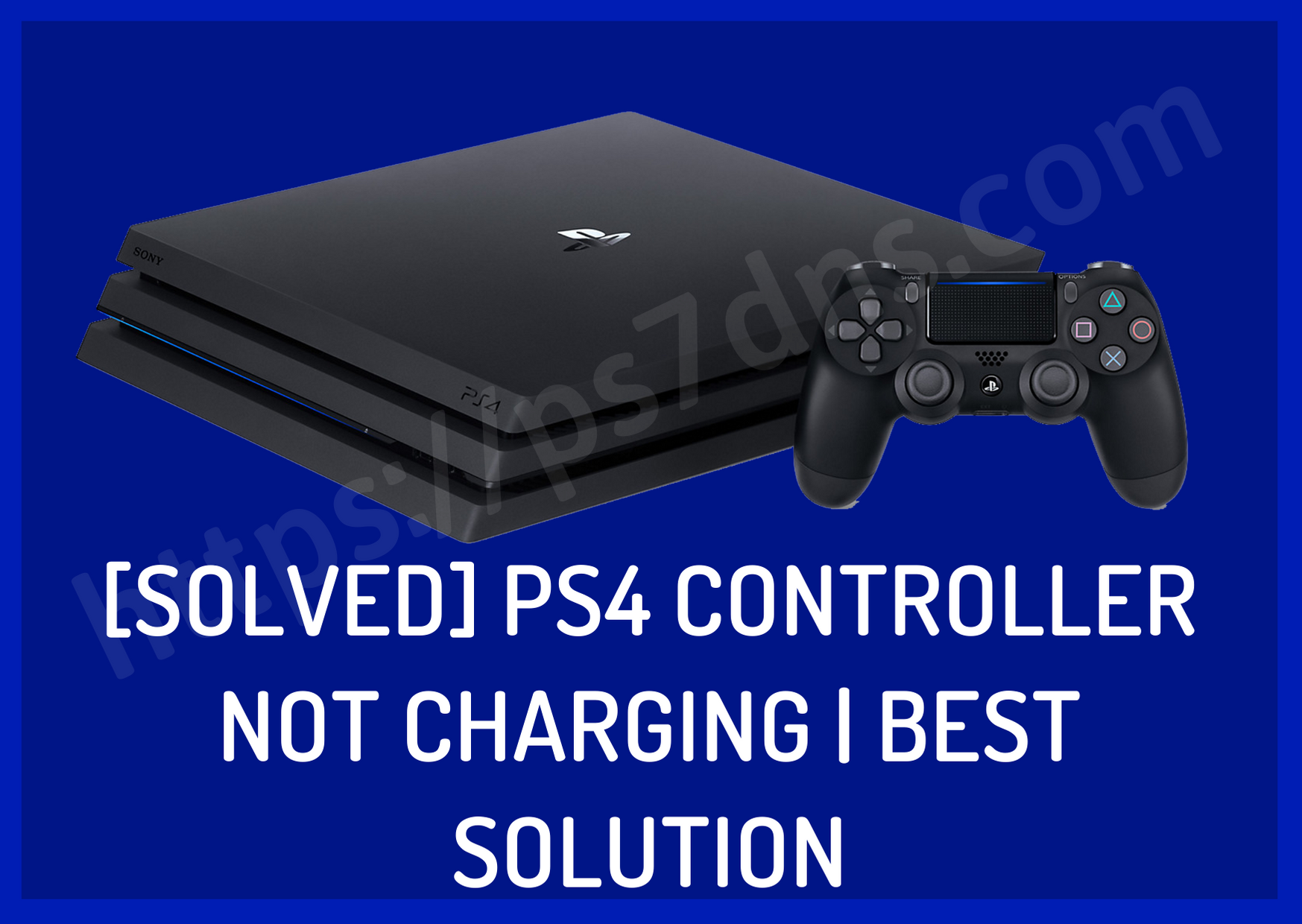 [Solved] PS4 Controller Not Charging | Best Solution